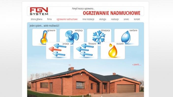 zrzut ekranu nr 0 dla realizacji Ogrzewanie powietrzem Szczecin