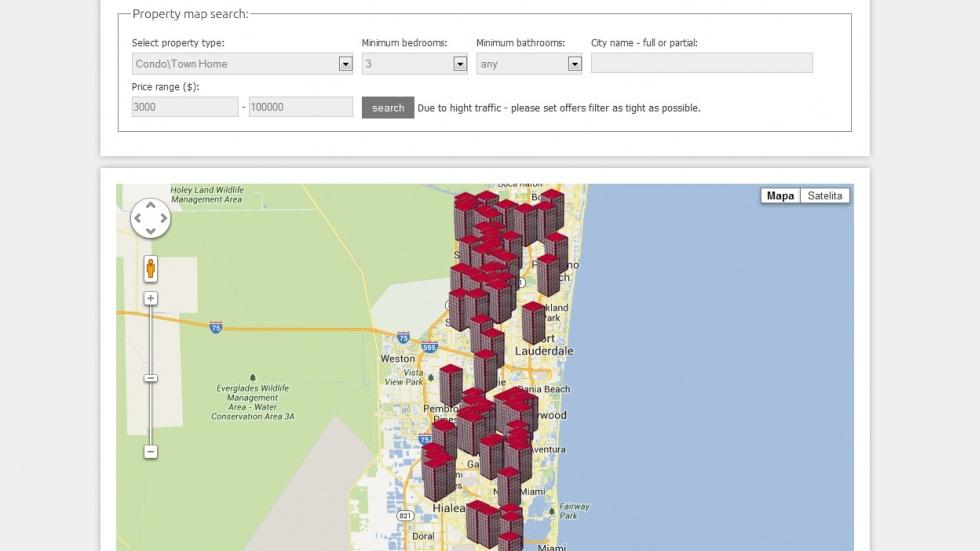 strony internetowe - podląg dla Miami Real Estate nr 5