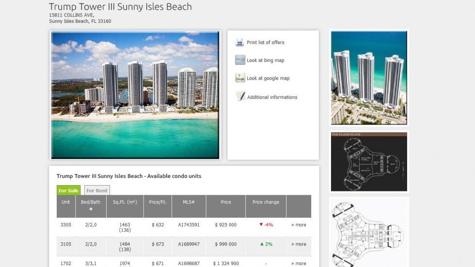 strony internetowe - podląg dla Miami Real Estate nr 6