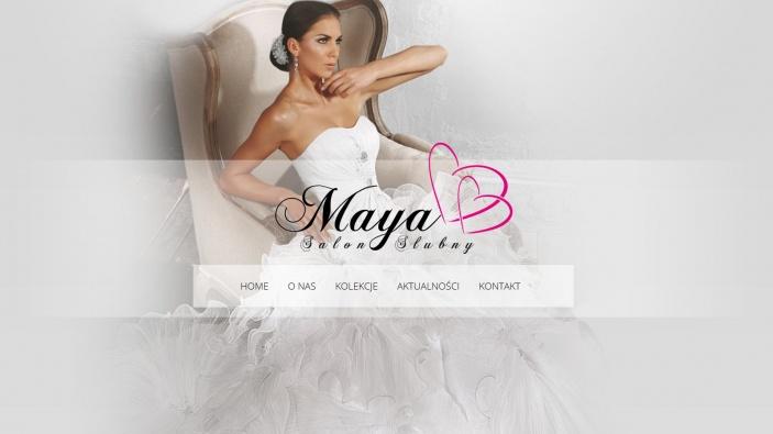 zrzut ekranu nr 3 dla realizacji Strona dla salonu ślubnego