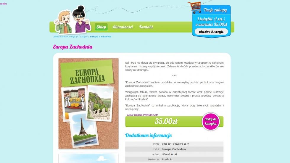 sklepy internetowe - podląg dla Wydawnictwo Meiga nr 1
