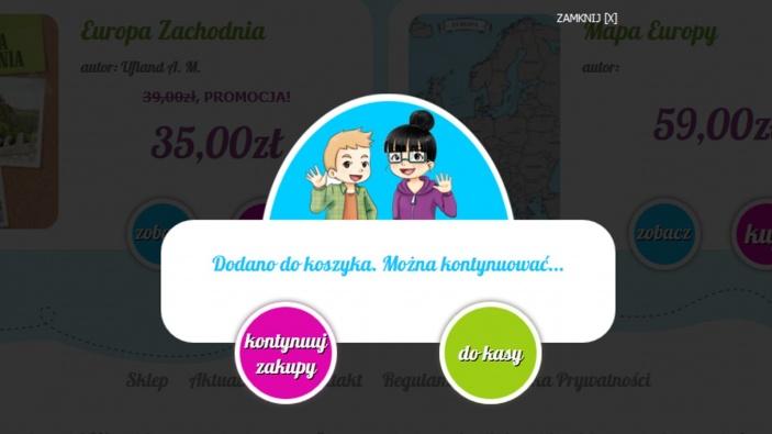 zrzut ekranu nr 3 dla realizacji Meiga - pozytywna księgarnia internetowa