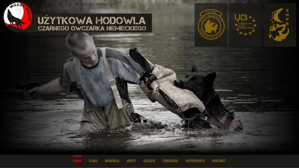 strony internetowe - podląg dla Hodowla czarnego owczarka niemieckiego nr 1