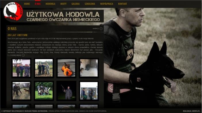 zrzut ekranu nr 1 dla realizacji Hodowla czarnego owczarka niemieckiego