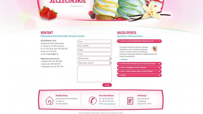 zrzut ekranu nr 3 dla realizacji Integropol - producent koncentratu lodów mlecznych w proszku