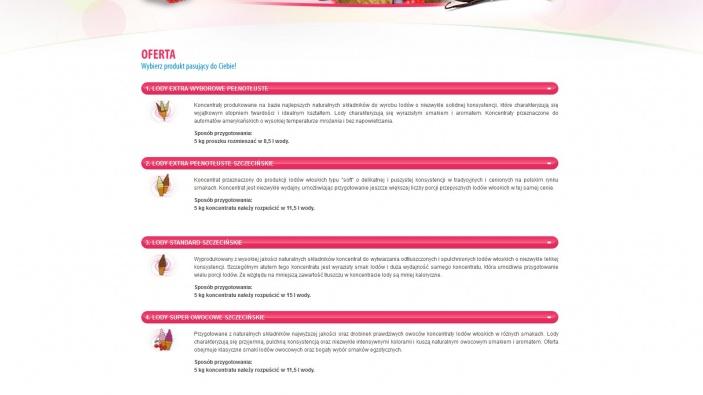 zrzut ekranu nr 2 dla realizacji Integropol - producent koncentratu lodów mlecznych w proszku