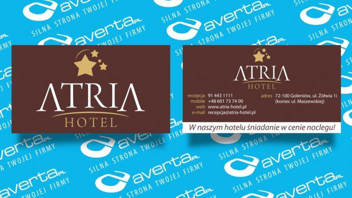 zrzut ekranu nr 0 dla realizacji Wizytówki hotelu z restauracją - Atria